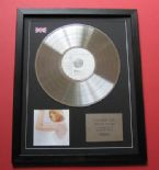MADONNA - Something To Remember CD / PLATINUM PRESENTATION DISC